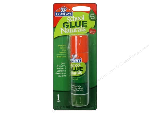 Elmer's School Glue Naturals Glue Stick .77 oz.