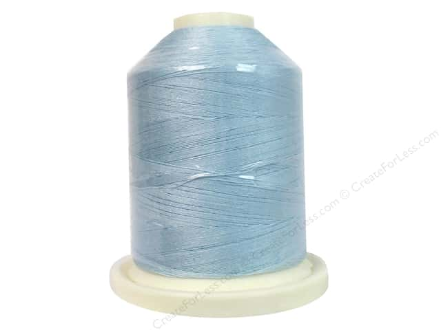 Signature Cotton Thread 60 wt. 1100 yd. #804 Crystal Blue