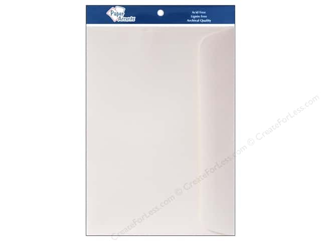 6 x 9 in. Envelopes by Paper Accents 10 pc. #119 Cream