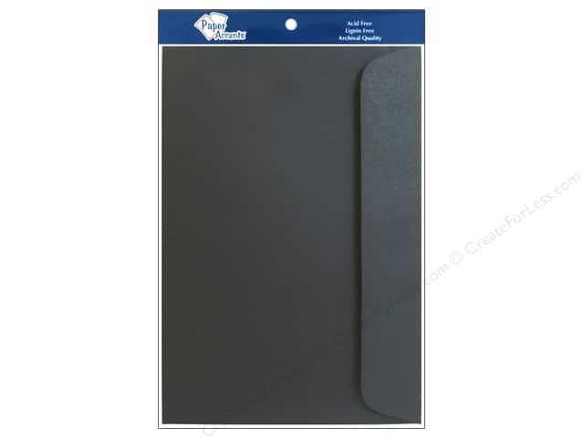6 x 9 in. Envelopes by Paper Accents 10 pc. #127 Black