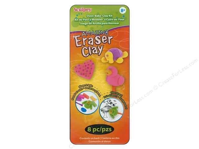Sculpey Amazing Eraser Clay Eraser Maker Kit