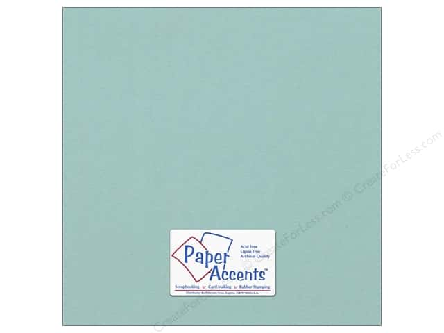 Paper Accents Cardstock 12 x 12 in. #18089 Smooth Seafoam (25 sheets)