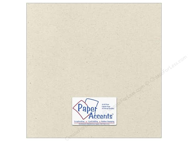 Paper Accents Cardstock 12 x 12 in. #363 Recycled Beach Sand (25 sheets)