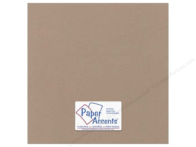 Cardstock 12 x 12 in. Recycled Russet by Paper Accents (25 sheets)
