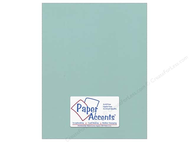 Cardstock 8 1/2 x 11 in. #18089 Smooth Seafoam by Paper Accents (25 sheets)