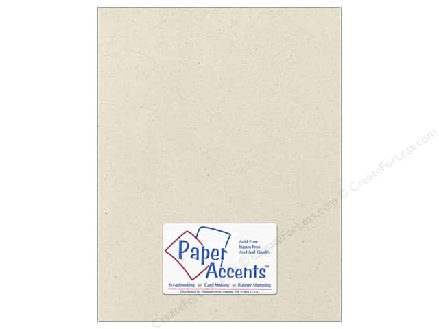 Paper Accents Cardstock 8 1/2 x 11 in. #363 Recycled Beach Sand (25 sheets)