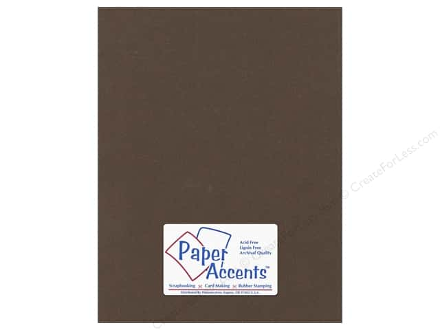 Paper Accents Cardstock 8 1/2 x 11 in. #365 Recycled Cocoa (25 sheets)