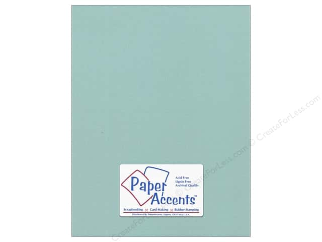 Cardstock 8 1/2 x 11 in. #8089 Muslin Seafoam by Paper Accents (25 sheets)
