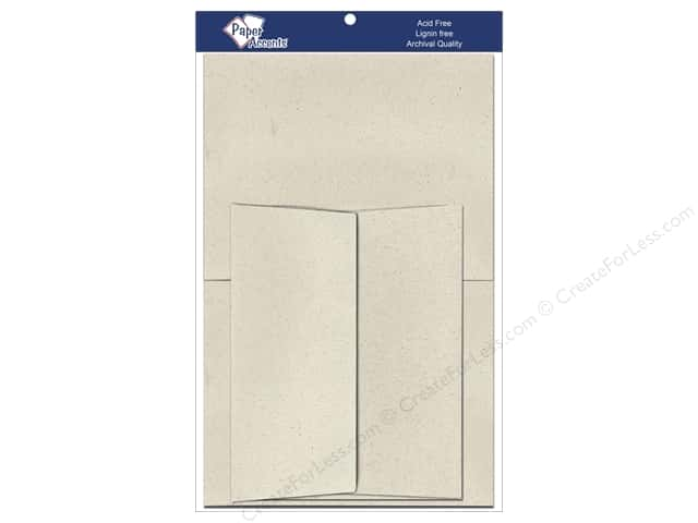 5 x 7 in. Blank Card & Envelopes by Paper Accents 8 pc. Beach Sand