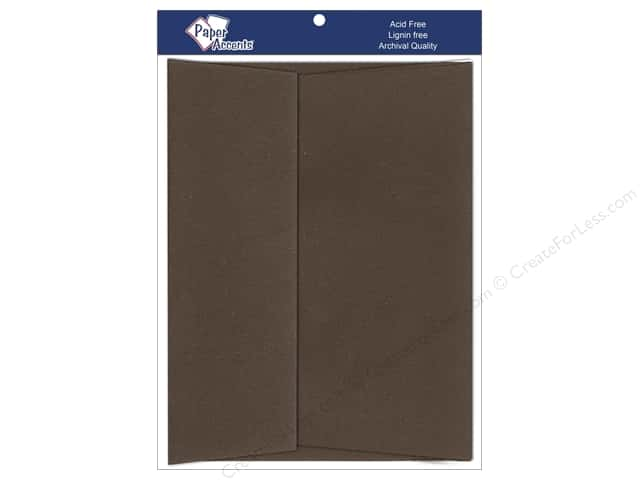 5 x 7 in. Envelopes by Paper Accents 25 pc. #365 Cocoa