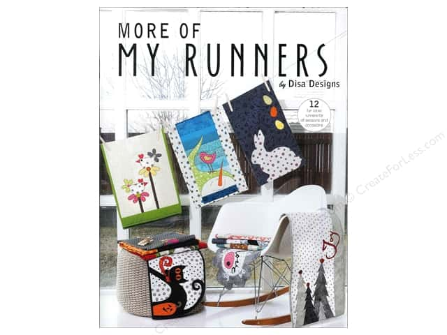 DisaDesigns More Of My Runners Book