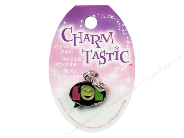 Janlynn Charmtastic Clip-On Charm LOL