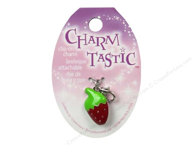 Janlynn Charmtastic Clip-On Charm Strawberry