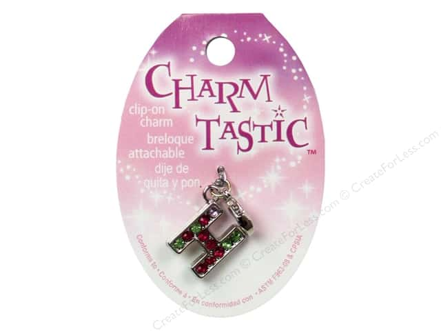 Janlynn Charmtastic Clip-On Charm Letter H