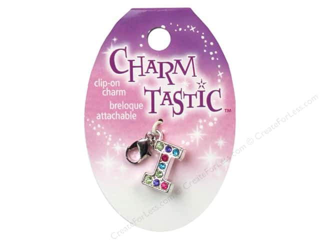 Janlynn Charmtastic Clip-On Charm Letter I