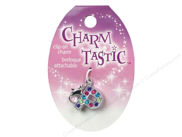 Janlynn Charmtastic Clip-On Charm Letter P