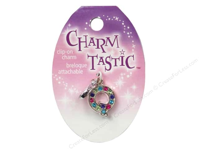 Janlynn Charmtastic Clip-On Charm Letter Q