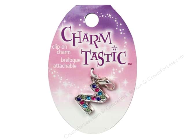 Janlynn Charmtastic Clip-On Charm Letter Z