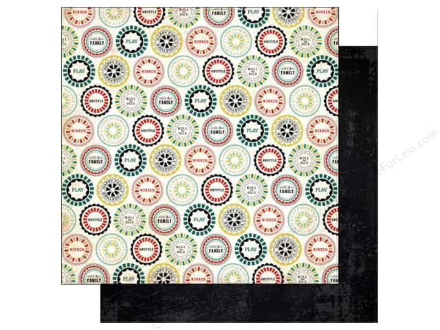 Carta Bella 12 x 12 in. Paper Well Played Play On (25 sheets)