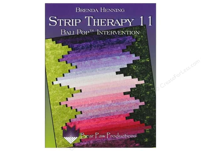 Bear Paw Productions Strip Therapy 11 Bali Pop Intervention Book by Brenda Henning