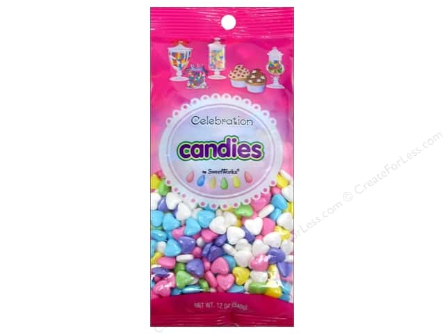 SweetWorks Celebration Candies 12 oz. Hearts