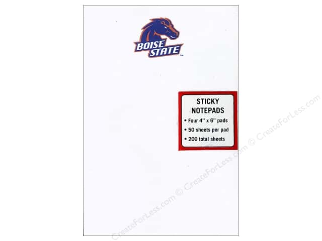 Boise State Sticky Notes 4 x 6 in. 4 pc.