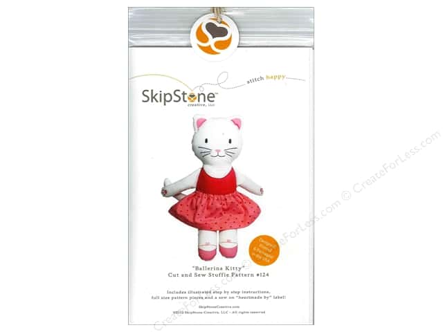 SkipStone Creative Ballerina Kitty Stuffie Pattern