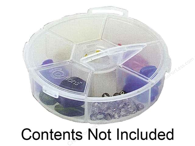 Creative Options Organizer Round 6 Compartment Organizer