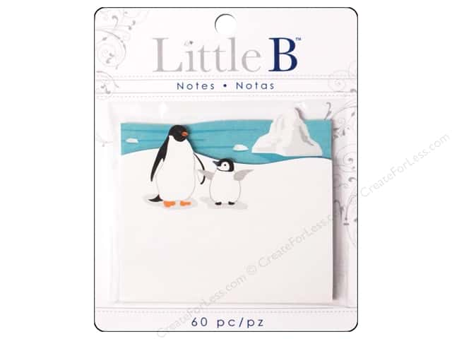 Little B Paper Adhesive Notes Penguins