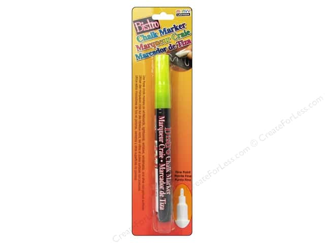 Uchida Bistro Chalk Marker Fine Point Fluorescent Yellow