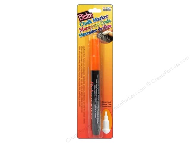 Uchida Bistro Chalk Marker Fine Point Fluorescent Orange