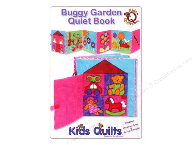 Kids Quilts Buggy Garden Quiet Book Pattern