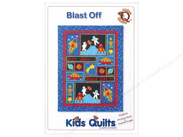 Kids Quilts Blast Off Pattern