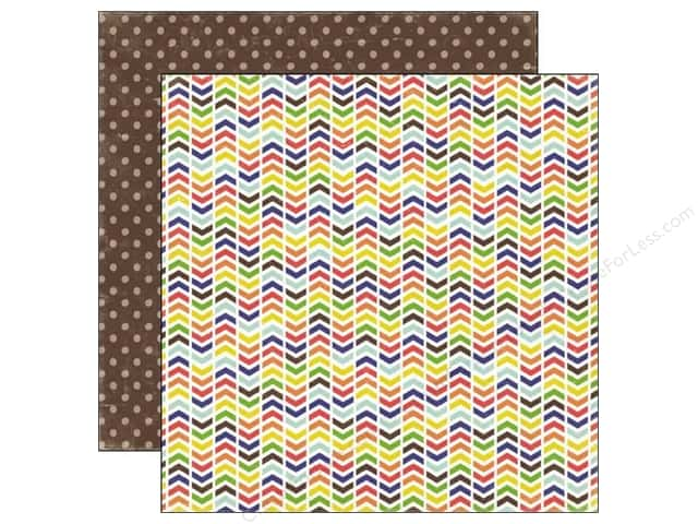 Echo Park 12 x 12 in. Paper Paper & Glue Collection Recess (25 sheets)