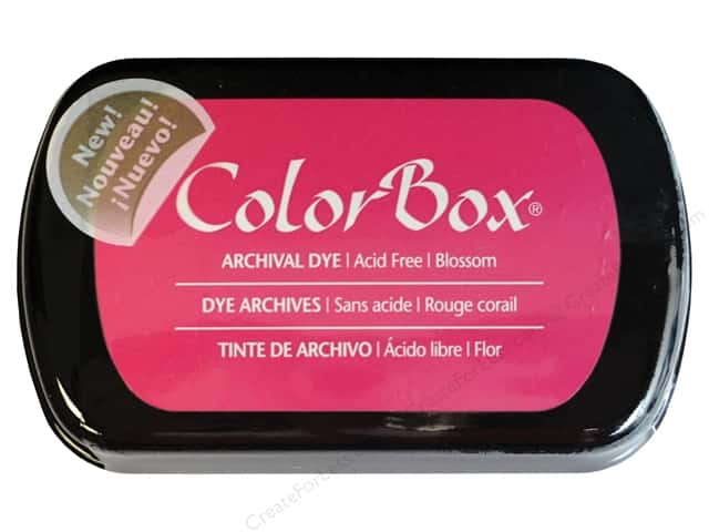 ColorBox Archival Dye Ink Pad Full Size Blossom
