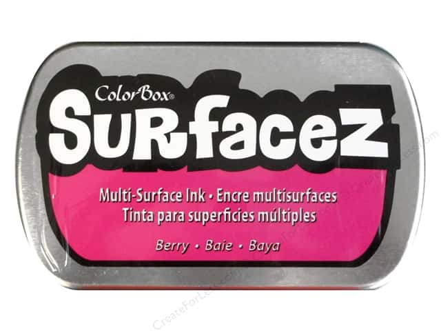 ColorBox Surfacez Ink Pad Full Size Berry