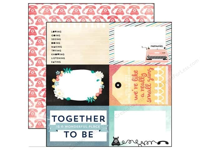 Carta Bella 12 x 12 in. Paper Hello Again Together (25 sheets)