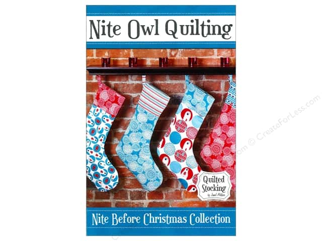 Nite Owl Quilting Quilted Stocking Pattern