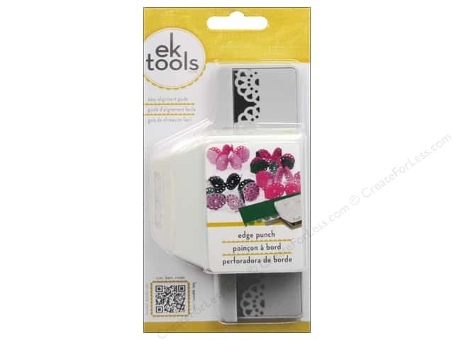 EK Success Edge Punch Abstract Flower