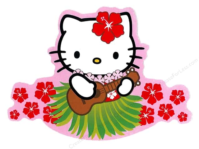 C&D Visionary Sticker Hello Kitty Ukulele