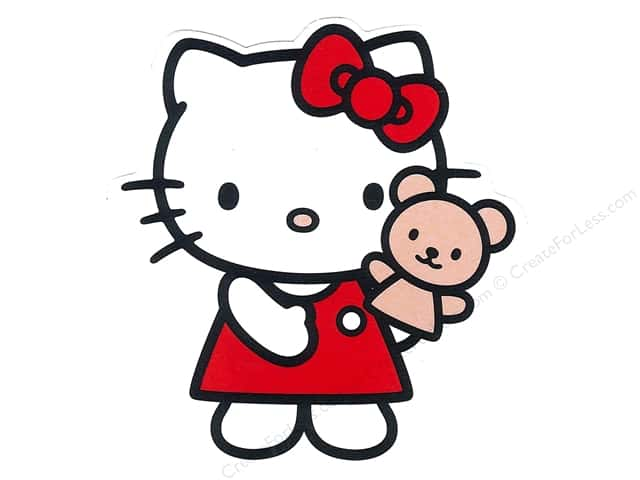 C&D Visionary Sticker Hello Kitty Puppet