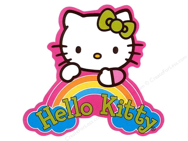C&D Visionary Sticker Hello Kitty Dream Rainbow