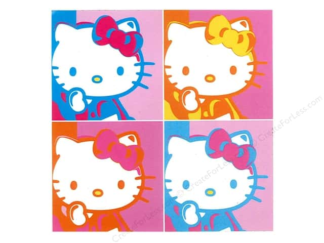 C&D Visionary Sticker Hello Kitty Warhol