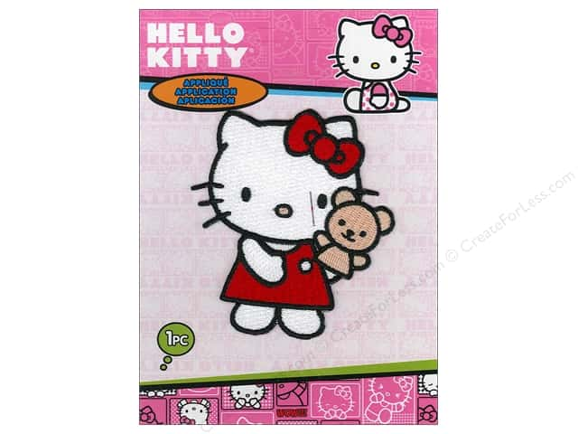 C&D Visionary Applique Hello Kitty Puppet