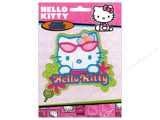 C&D Visionary Applique Hello Kitty Beach Break