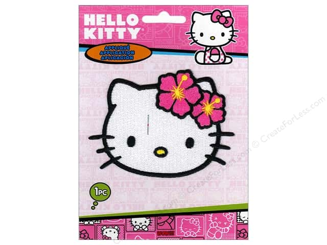 C&D Visionary Applique Hello Kitty Headshot