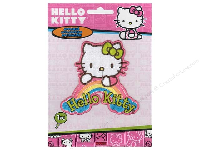 C&D Visionary Applique Hello Kitty Dream Rainbow