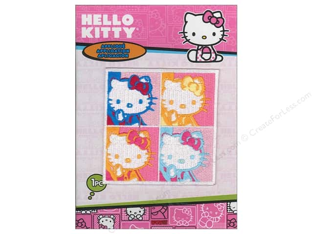 C&D Visionary Applique Hello Kitty 4 Square