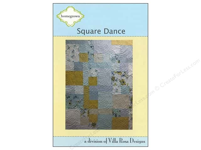 Villa Rosa Designs Homegrown Square Dance Pattern Card