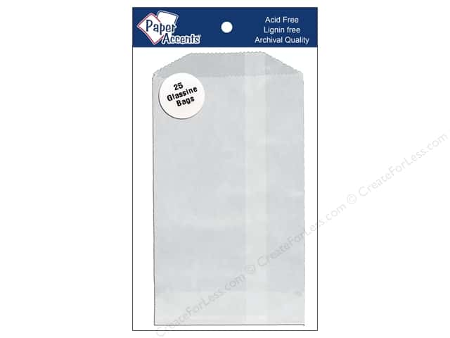 Paper Accents Bag 3 3/4 x 6 1/4 in. Glassine 25 pc.